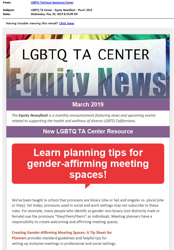 March 2019 Equity News cover page thumbnail
