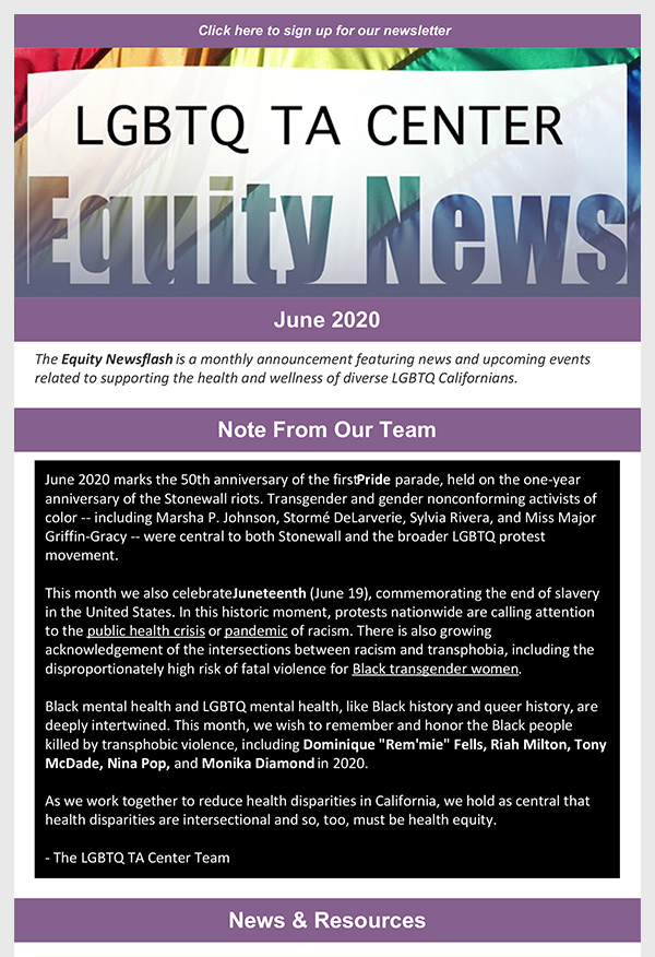 June 2020 Equity News cover page thumbnail